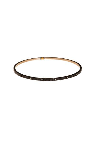 Yossi Harari - Lilah Oxidized Gold & Silver Diamond Bracelet