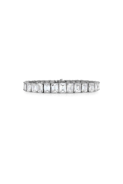 Louis Newman - White Diamond Bracelet