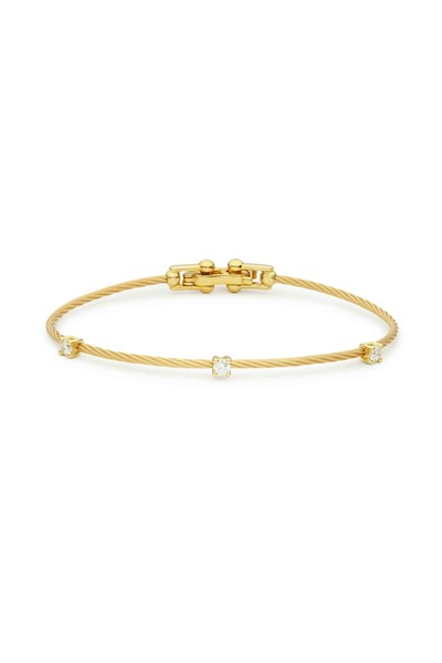 Paul Morelli - 18K Yellow Gold Diamond Wire Bracelet