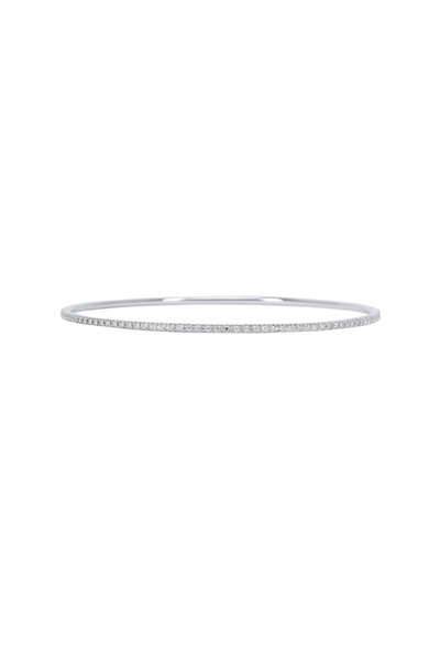 Paul Morelli - 18K White Gold Diamond Bangle