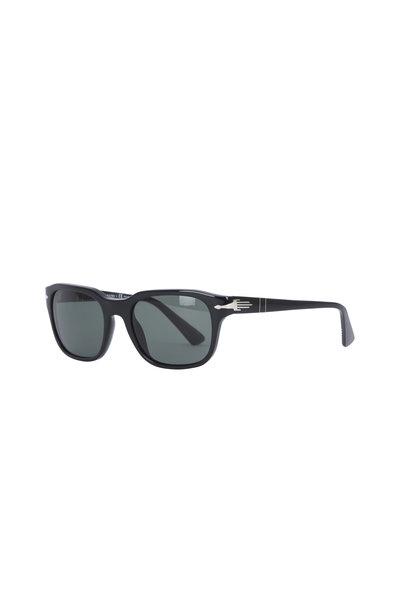 Persol - Black Square Frame Sunglasses