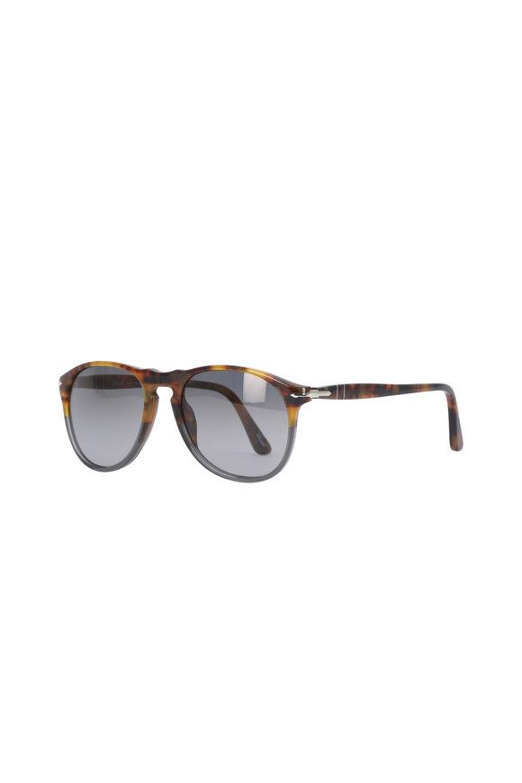 Persol Pilot Matta Havana Sunglasses