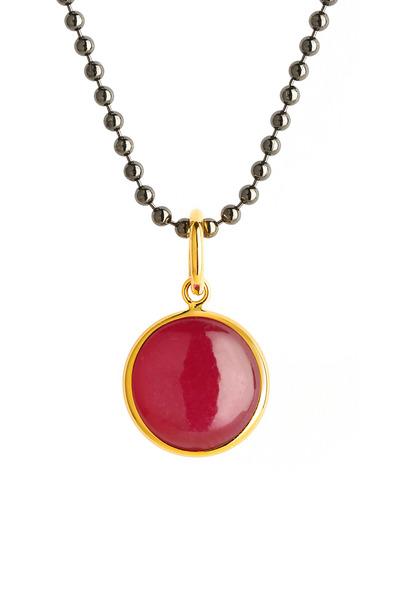 Syna - Ruby Chakra Pendant