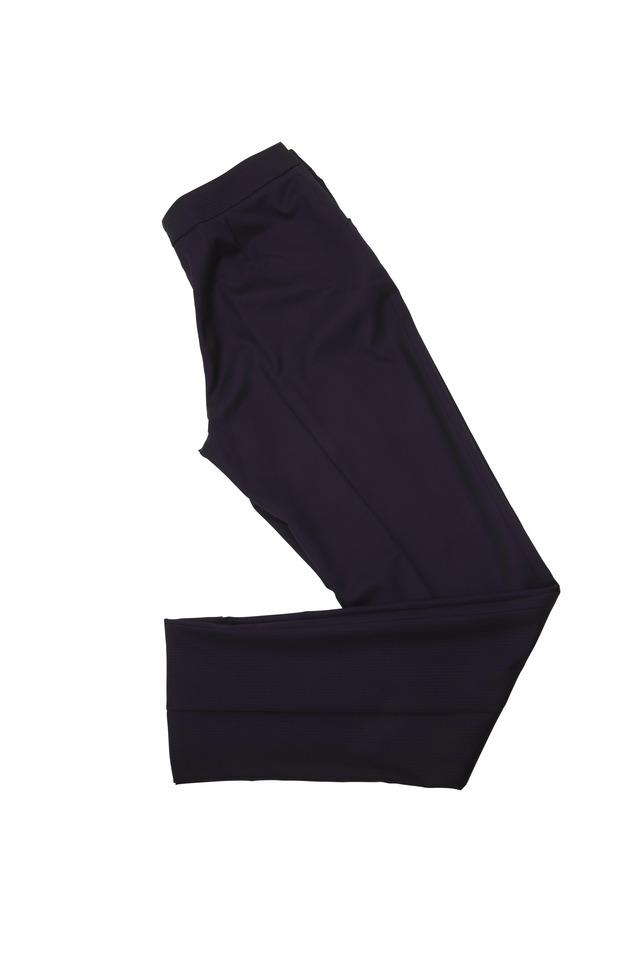 Navy Blue Tonal Stripe Pants